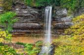 Autumn at Munising Falls — Stock Photo