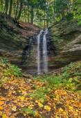 Tannery Falls Autumn — Stock Photo