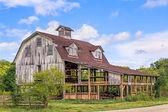 Old Interesting Barn — Stock Photo