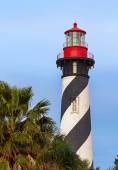 Lighthouse at St. Augustine, Florida — Stock Photo