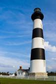 Lighthouse at Bodie Island — Stock Photo