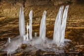 Cave Ice — Stock Photo