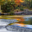 Autumn Colors at Bond Falls — Stock Photo #68209337