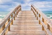 Nadmorskiej promenady — Zdjęcie stockowe