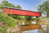 The James Covered Bridge — Stock Photo
