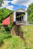 Hills Covered Bridge — Stock Photo