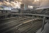 Birmingham, England, New St Station — Stock Photo