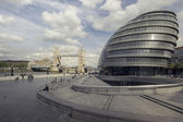 London,England - May 11,2015 : View of City Hall, — Stock Photo