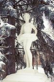 Sculpture of ballerina in park — Stock Photo