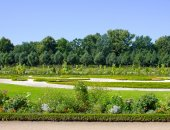 Garden near Charlottenburg Palace — Stock Photo
