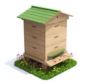 Bee hive — Stock Photo