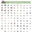 Real estate and home icon set — Stock Vector #57282877