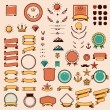 Set of the design elements — Stock Vector #59869451