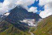 Kaukasiska berget scen — Stockfoto