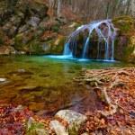Autumn mountain river — Stock Photo #54274779