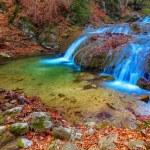 Autumn mountain river — Stock Photo #54274959