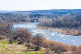 Rushing river landscape — Stock Photo