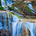 Small closeup waterfall — Stock Photo #58219433