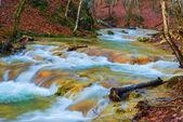 Pięknej górskiej rzeki — Zdjęcie stockowe
