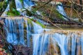 Small closeup waterfall — Foto Stock