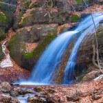 Mountain waterfall — Stock Photo #58781455