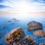 Sunrise over a sea coast — Stock Photo #60033551