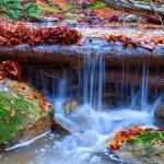 Small closeup waterfall — Stock Photo #65150431