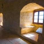 Cyprus kolossi castle interior — Stock Photo #67872929