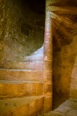 Stony medieval staircase — Stock Photo