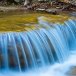Closeup waterfall — Stock Photo #69623379