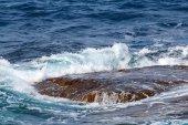 Крупным планом морской банк — Стоковое фото