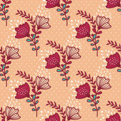 Sample floral background — Stock Vector
