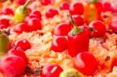Pilaf with tomato  — Stockfoto