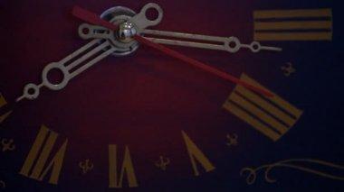 Vintage clock — Vídeo de stock