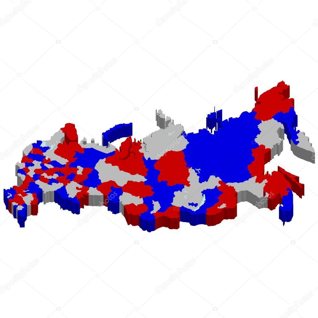 俄罗斯地图国家