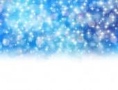 クリスマス雪背景 — ストックベクタ