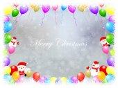 圣诞雪花背景 — 图库矢量图片