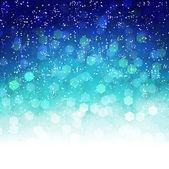 Light snow background — Stock Vector