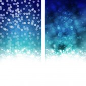 Christmas snow background — Stock Vector