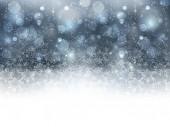 La neige fond de Noël — Vecteur