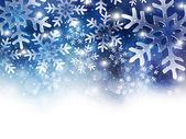 雪圣诞节背景 — 图库矢量图片