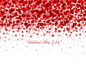 Valentine Heart Background — Vetor de Stock