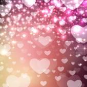 Valentine Heart Background — Stock Vector