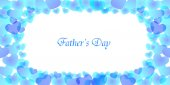 Heart frame Father's Day — Stockvector