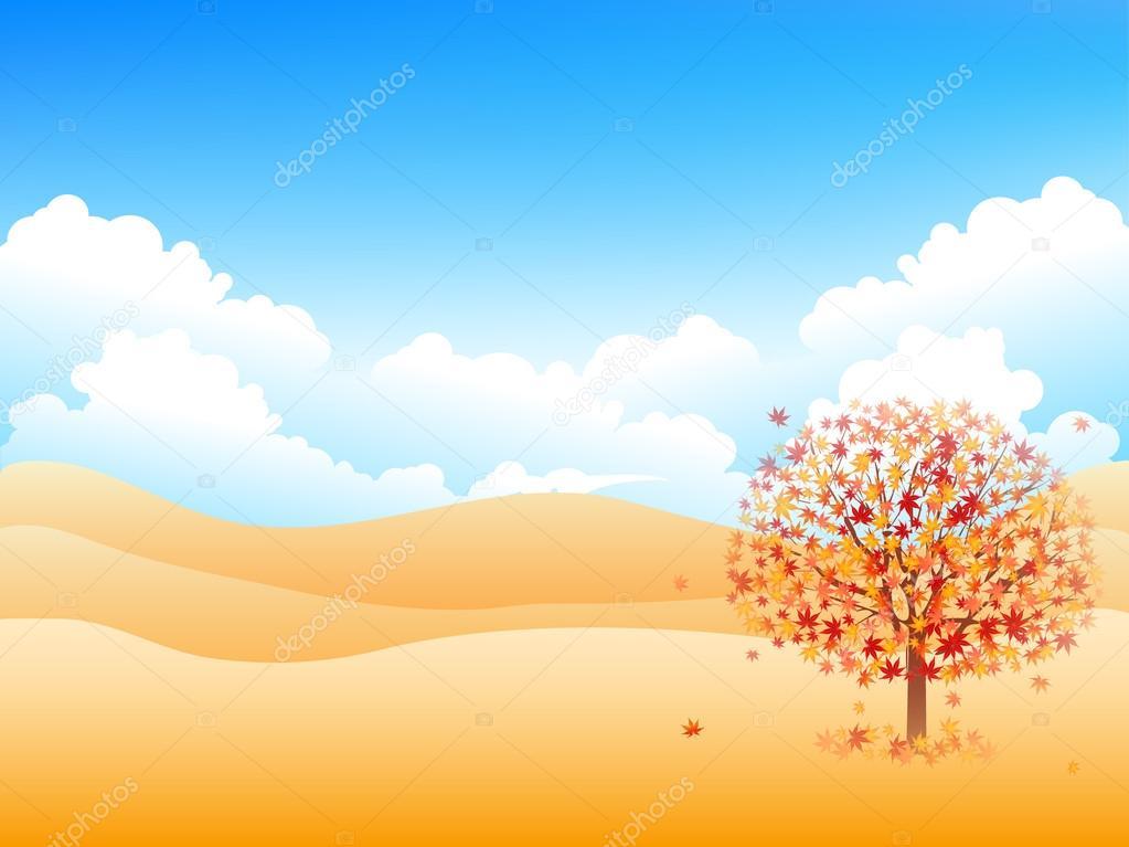 枫树叶背景 — 图库矢量图片#74268355
