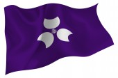 Gunma Flag icon — Stock Vector