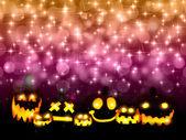 Halloween pumpkin background — Stock Vector