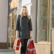 Woman with shopping bags — Stock Photo #57753149