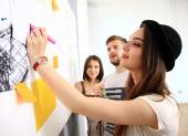 Business people planning work — Stock Photo