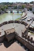 Fortress of SantAngelo in Rome, Italy — Foto Stock